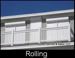rolling hurricane shutters