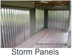 hurricane storm panels charleston