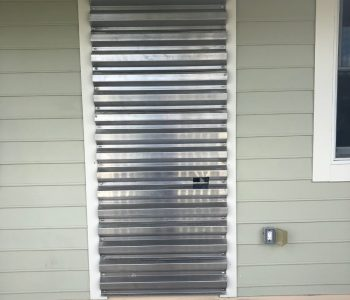 Horizontal Panels UNUSUAL INSTALL
